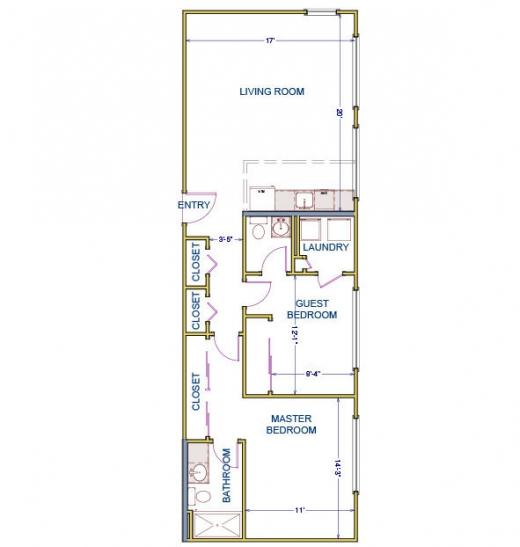 Manor Apartments 2 Bedroom Floorplans Rockwood